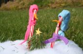 Bonhommes de neige Candy Cane