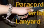 Lanière de poignet paracord