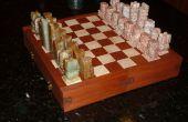 Verrouillage d'échecs/Checker Board Puzzle