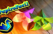 Comment faire une origami fleur de lilium