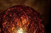 Lampe sphère métallique v2.0 de cuivre