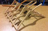Cintre plat Etendoir en bois