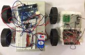 Robot de geste contrôlé en utilisant Arduino