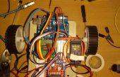 Mobile exploité arduino Uno robot utilisant DTMF