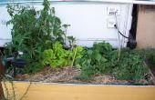 Grand auto-arrosage planteur + pluie l'eau stockage mise à jour