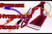 Seringue de DIY - Robot hydraulique