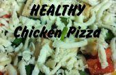 Pizza rapide & Simple poulet en bonne santé !