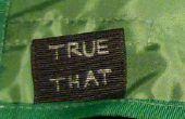 Comment faire vos propres étiquettes de vêtements