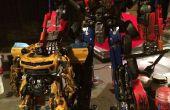 Film précise Optimus Prime (avec LED bleu)