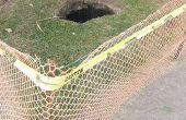 Arrêtez vos chiens de creuser des trous