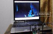 Télécommande infrarouge controle votre ordinateur portable avec arduino UNO!!