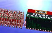Construire une calculatrice binaire mécanique de Lego