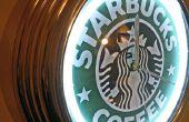 Thème changeant de néon - Starbucks