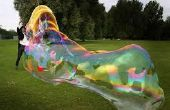 Des bulles gigantesques DIY