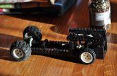 LEGO voiture avec le moteur de rotation
