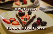 "Pizza de fruits Dessert DIY ""brownie"""