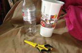 Comment faire un conteneur scellé dans une tasse de Soda et une bouteille