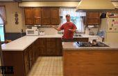 Sortir a résolument tournés vers l'avenir--finition d'armoires de cuisine
