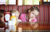 Jouer avec des couteaux - Keep Kids divertir à un restaurant