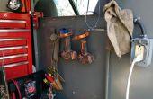 Support de câble d'acier simple outil