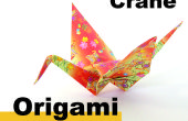 Comment origami une grue