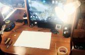La SoftBox bricolage moins cher (lumière de studio)