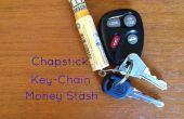 Transformer un Tube de baume à lèvres en un porte-clés argent Stash (vidéo)