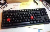 Verrouillage à commande des majuscules : matériel clavier mécanique niveau mod