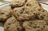 Biscuits aux brisures de chocolat noix de gruau