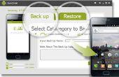 Sauvegarder et restaurer les données depuis un téléphone Android avec SyncDroid