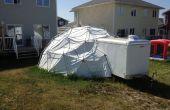 24 pieds, dôme géodésique de EMT 3V
