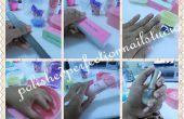 Barbie Pink Nails Tutorial
