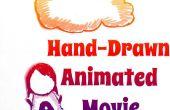 Film d'animation dessinée à la main