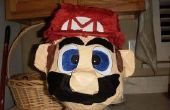Rempli de bonbons chef Mario