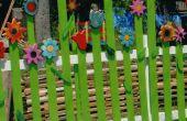 Comment faire une clôture de fleur Fun