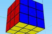 Travail Cube du Rubik's sur Google SketchUp