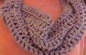 Infinity écharpe au crochet