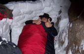 Chaud n'importe où dormir