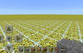 Comment faire personnalisé flatland mappe dans minecraft pe 0.9.5 et dessous sur android