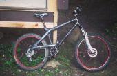 Vélo de montagne de fibre carbone maison