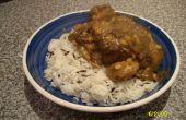 Curry chèvre Stew (Curry de chèvre) avec lentilles & Veg