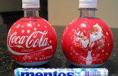 Mentos + Cola jet de bouteille.