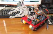 Mon huitième projet : Robot Arm avec le châssis du char intelligente et Bluetooth