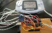 Discours-contrôlée de Game Boy Advance