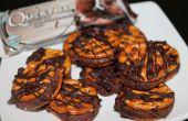 Bretzel au chocolat bouchées