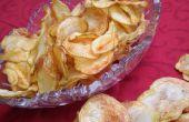 Fried croustilles maison d'air