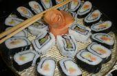 Comment faire de délicieux sushis rouleaux dans votre cuisine