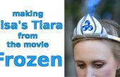 Fabrication Tiara d'Elsa du film congelé