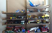Mis à jour - Lightweight étagères pour Legos - coupé avec le graveur Laser