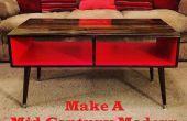 Faire une Table basse de Style moderne du milieu du siècle facile & pas cher